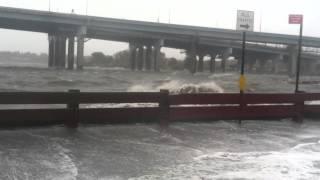 Hurricane Sandy Hit's NYC, Whitestone, Bayside