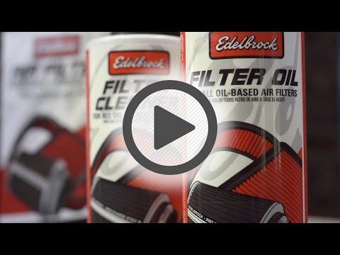 Edelbrock Air Filter Cleaning Kit- Pep Boys