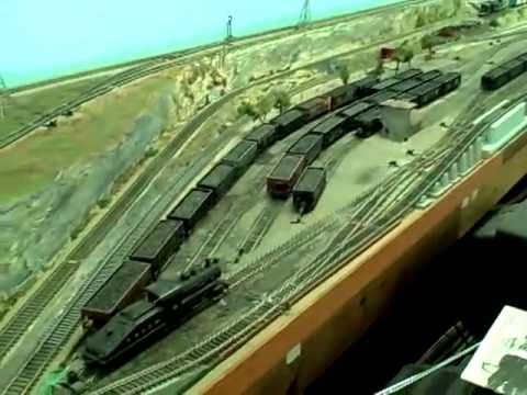 Operating Trains On George's  HO Scale  Layout