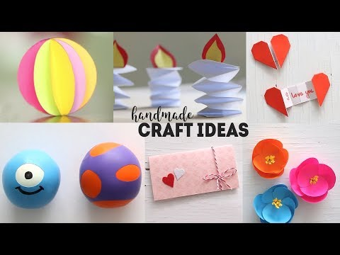 6 Easy Paper Craft | Paper Folding | DIY Tutorial