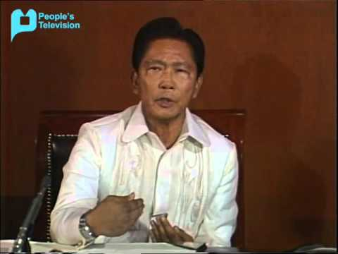 President Ferdinand Marcos' NBC INTERVIEW