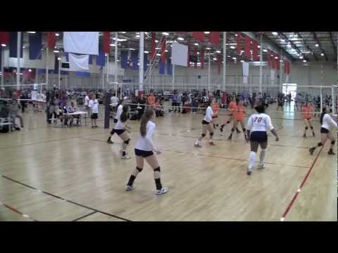 Gillian O'Neal #17 Outside Hitter Club West Pasadena 17 Red Class of 2013