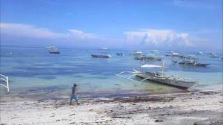 Alona Beach, Panglao, Bohol Philippines Video 2 of 4  ~ Philippine Tourism, Motorcycle Adventures