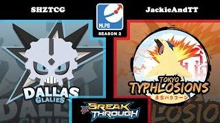 MLPB Season 2 Week 1: Dallas Glalies vs. Tokyo Typhlosions!