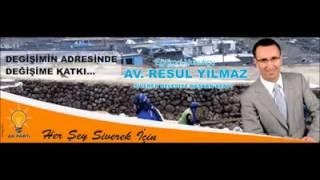 AKP Siverek Belediye Başkan Adayı Resul YILMAZ (Hazırlayan:Ahmet AHMER)