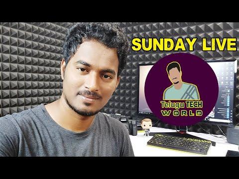 Telugu Techworld Sunday Live Q&A...!