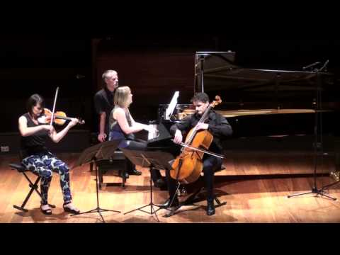 Helix (for violin, cello, and piano) complete live performance by The NZ Trio