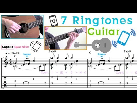 7 Ringtones Guitar Revised edition