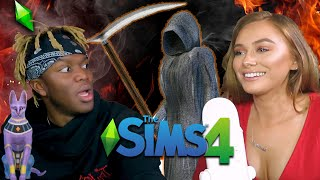 PLAYING THE SIMS - with KSI
