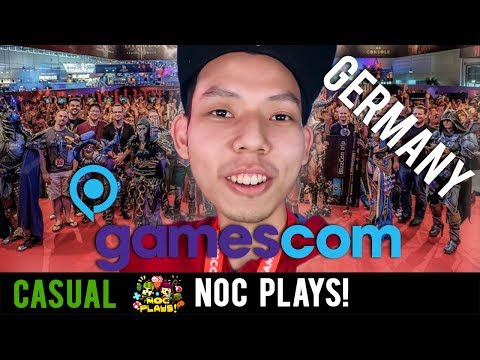NOC Plays goes to GERMANY! (Gamescom)