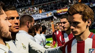 REAL MADRID - ATLÉTICO MADRID [FIFA 18]