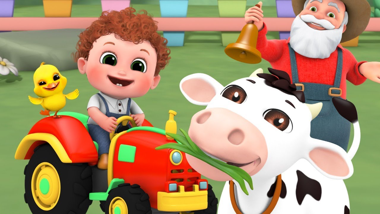 old macdonald had a farm song  |+ 4K Nursery Rhymes & Kids Songs - Blue Fish