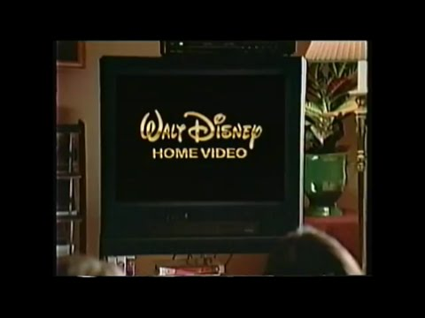 4 Different Variations Of The Walt Disney Company VHS Intro