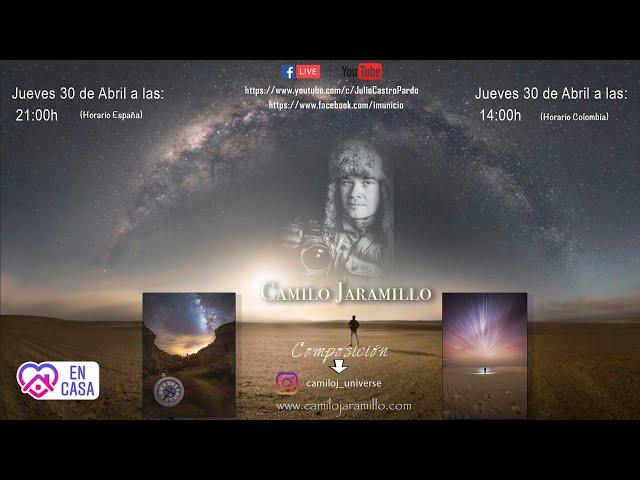 Hablamos con el gran Camilo Jaramillo, experto en composición en fotografía nocturna y conceptual