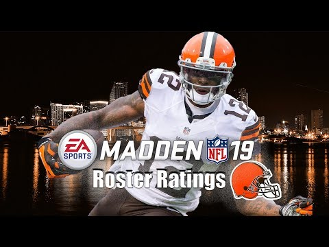 Madden 19 Cleveland Browns Player Ratings