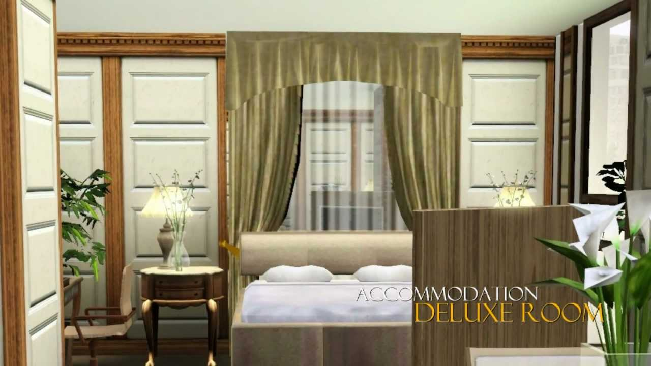 Sims 3 luxury hotel youtube for Hotel luxury que es