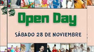 Invitación Open day 2020 ( Sábado 28 de noviembre)