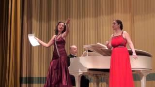 В. А.  Моцарт -  Дуэт Сюзанны и Графини из оперы