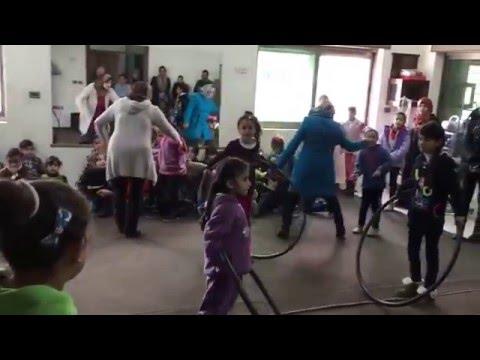 Palestinian Dance of Children at  Al Rowwad Center