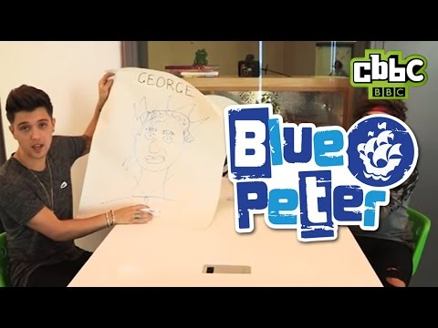 Union J draw each other for Blue Peter - CBBC