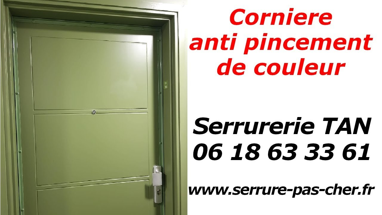 tuto comment installer des cornieres anti pinces youtube. Black Bedroom Furniture Sets. Home Design Ideas