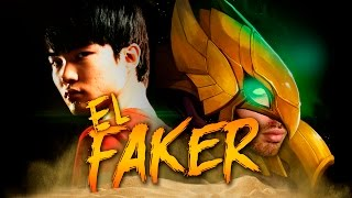 EL FAKER DE BUGIMA | First Time AZIR ( League of Legends )