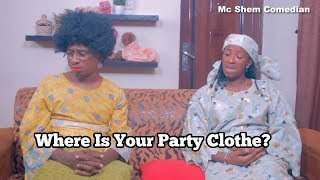 I Burnt My Mother`s Party Clothe | Mc Shem Comedian