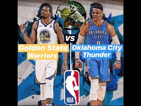 Golden State Warriors Vs Oklahoma City Thunder // Season Oct. 16 🏀🎮 - NBA 2K19
