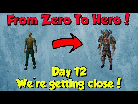 From Zero to Hero - Getting Close to Prif! [Runescape] Week 2, Episode 12