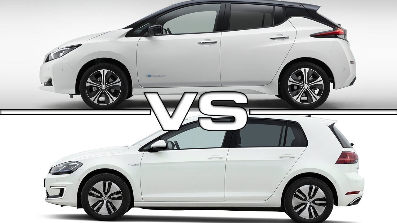 Image result for 2018 e-Golf, vs Leaf vs i3