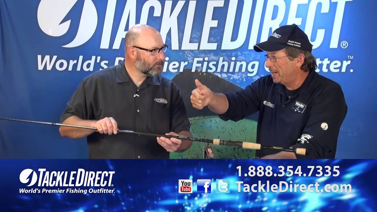 856afe6da261a St Croix Avid X Rods at TackleDirect - YouTube