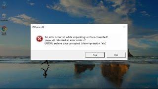 How to Fix Isdone.dll/Unarc.dll Returned an Error Code: -1/5/6/7/11/12/14 (9 Methods).