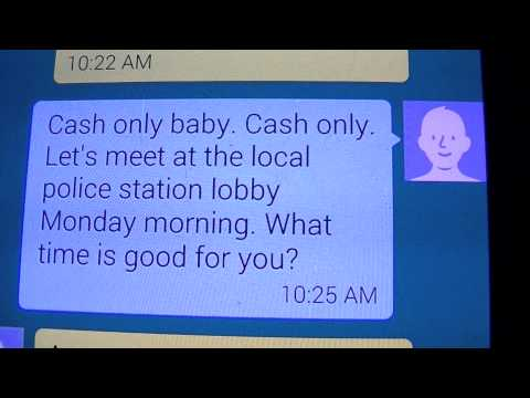 Messing With Craigslist Scammers