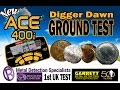 Beginners Guide to metal detecting - Grounds Tests the NEW GARRETT ACE 400i  for target ID's (9)