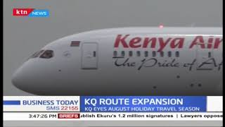 KQ eyes August holiday travel season