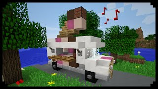 ✔ Minecraft: How to make an Ice Cream Truck