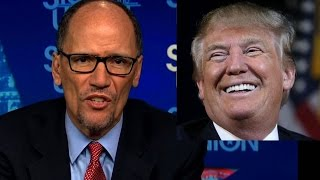 DNC Chair Says Trump and Putin Rigged The Election! Groundhogs Day!
