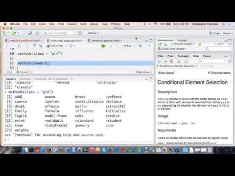 UC Berkeley R bootcamp, Module 10: Advanced topics