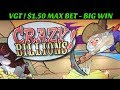 VGT ! ** CRAZY BILLIONS $1.50 MAX BET ** BIG WIN! ***