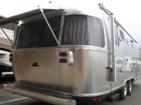 Perfect 2014 Airstream Land Yacht 28FB Luxury Camping Glamping ... | Doovi