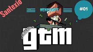 GTA in Minecraft Vanilla??? Minecraft Grand Theft Craft  01  Santexio