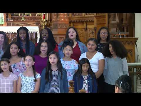 Metro Catholic School Choir Over There is My Future 2019
