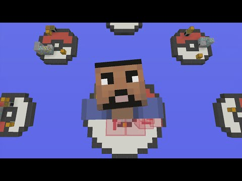 Minecraft Xbox - Pokemon Badges - SkyWars...