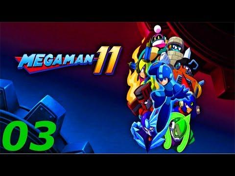 Let's Play Mega Man 11 [German/Deutsch] #03 Hei, hei, heiß und Kalt.