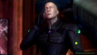 Injustice: Gods Among Us - Lex Luthor vs Batman - PS3 Demo - HD