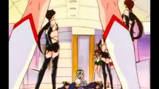 [HD] Sailor Moon STARS 188 ENGLISH DUBBED Silver Moon Crystal Power Kiss!