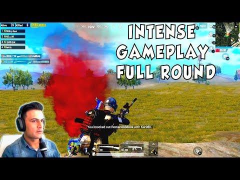 INTENSE GAMEPLAY #1 FULL ROUND PUBG MOBILE - RAGNAR LIVE GAMING PAKISTAN