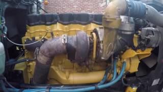 видео двигатели caterpillar