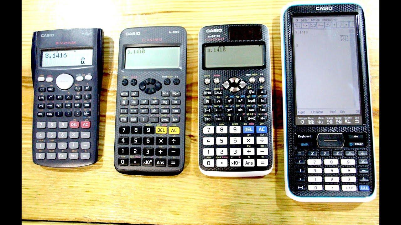 1ede26abc21d Unboxing varias Calculadoras Casio  Fx-82 EX
