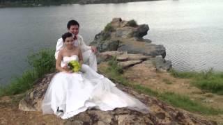 Chụp hình cưới hồ đá thủ đức chụp hình ngoại cảnh đẹp